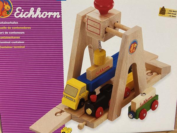 Containerhafen Eichhorn aus Holz