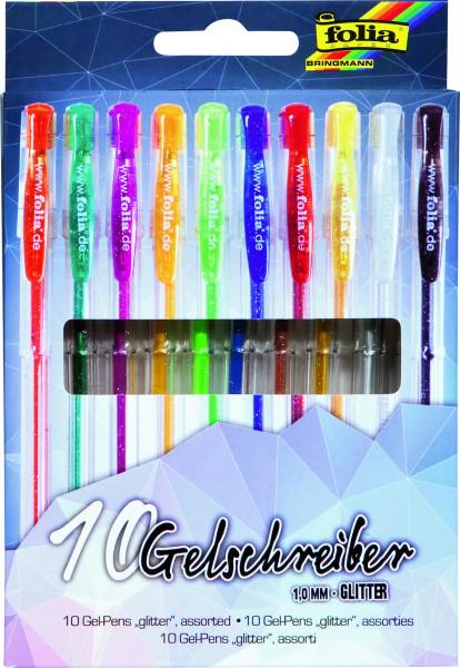 Gelschreiber Glitter