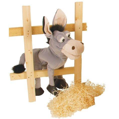 Handpuppe Fridolin der Esel