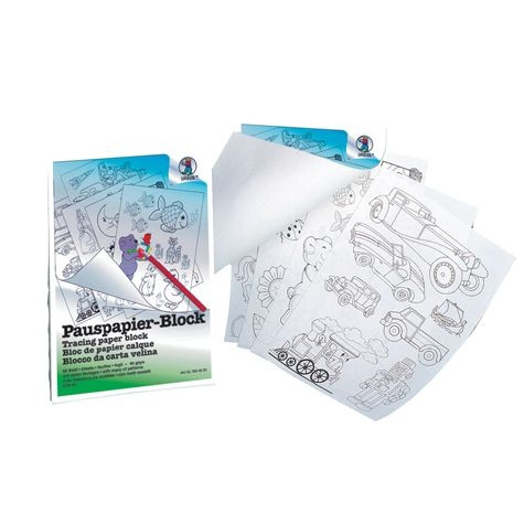 Pauspapier-Block DIN A4