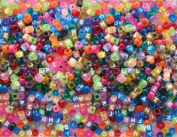 Kunststoff-Perlen