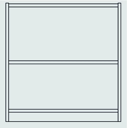 Unterschrank B/H/T 82 x 80 x 40 cm