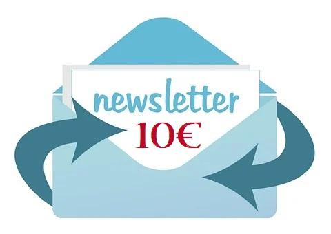 Jetzt zum Newsletter anmelden und 10€ sichern!