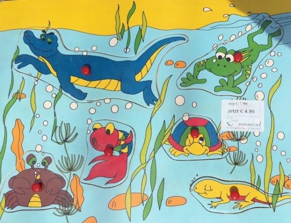 Puzzle Wassertiere