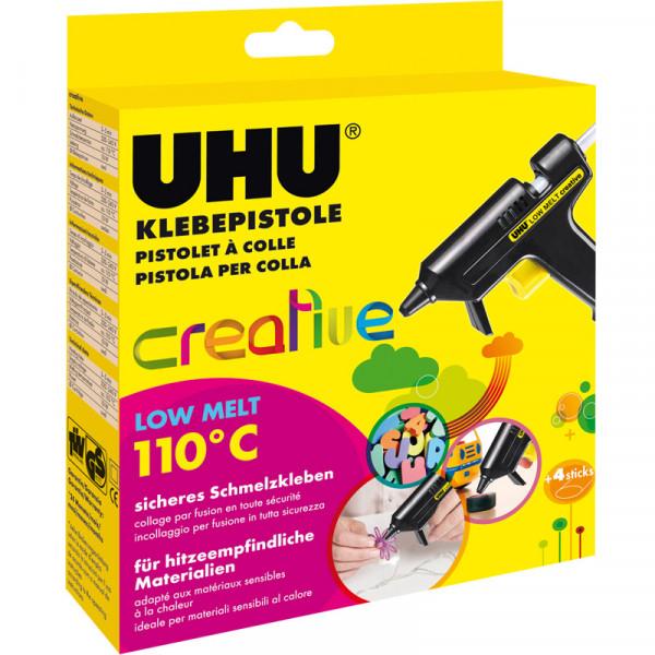 UHU Heißklebepistole LOW MELT Creative 110°C