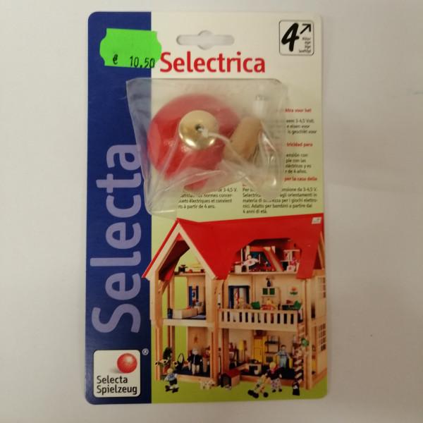 Rote Hängelampe für Puppenhaus, elektrisch