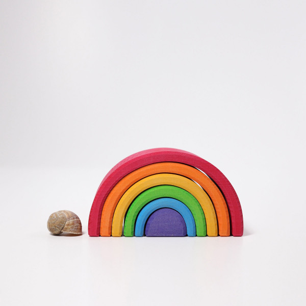 Regenbogen / Tunnel, groß