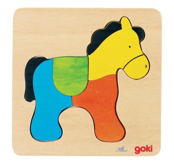 """Einlegepuzzle """"Pferd"""""""