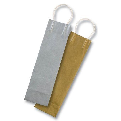 Papiertüten f.Flaschen,10x10x36,gold