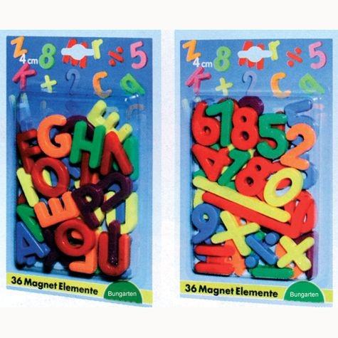 Magnetische Großbuchstaben