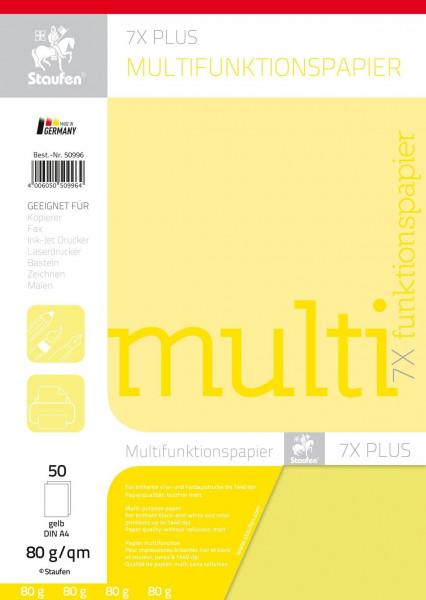 Malpapier/Kopierpapier, gelb