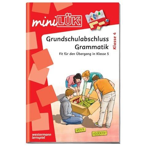 mini Lük Grundschulabschluss Grammatik