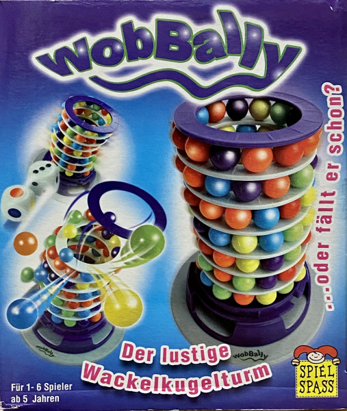 WobBally - Der lustige Wackelturm