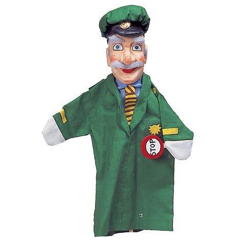 Polizist grauhaarig