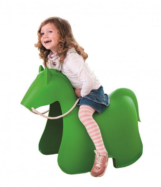 Pony grün Schaukelpferd für Outdoor / Indoor