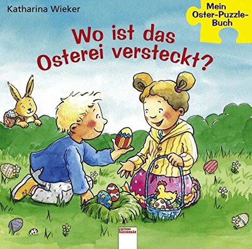 Wo ist das Osterei versteckt? Oster-Puzzle-Buch