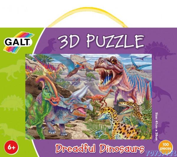 "3D-Puzzle ""Dinosaurier"" 100teilig"
