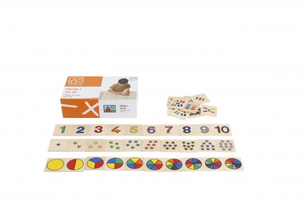 """Lernspiel """"From 1 to 10"""" - Von 1-10 zählen und erkennen"""