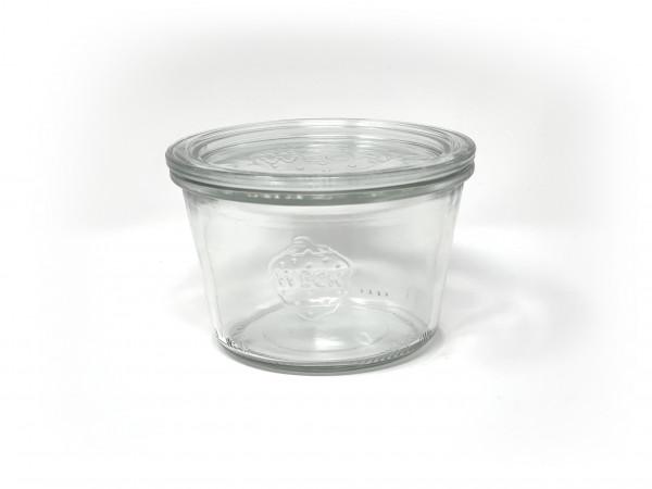 Einmachglas 1/4 Sturz, Ø 100 mm