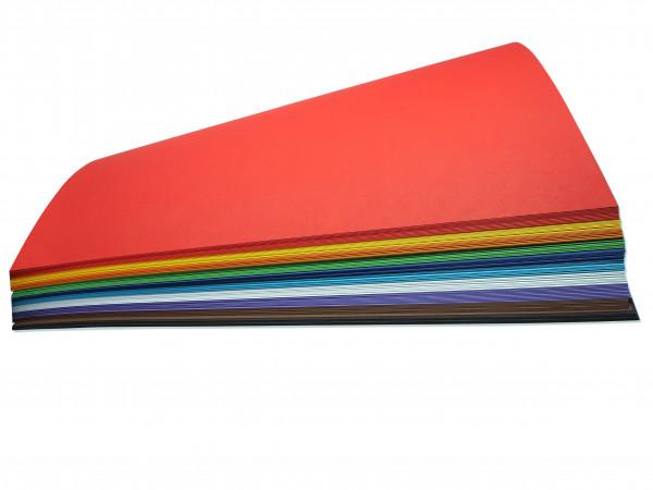Fotokarton 300g, 50x70 cm - 100 Bogen in 10 Farben